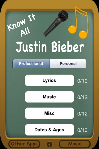 Screenshot Justin Bieber – Know It All