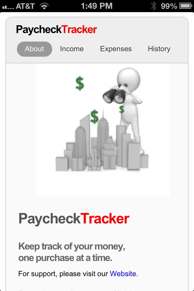 paycheck tracker